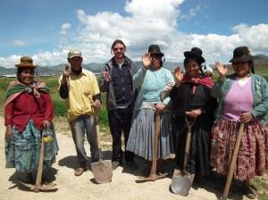 Local Aymara of Puno in Peru