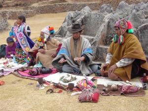 A shamanic despacho ceremony. Image credit: Cielle Cindy Backstorm