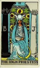 High Priestess in Tarot