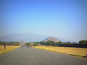 The Avenue of the Dead, Teotihuacan