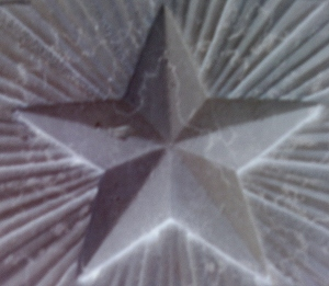 5-sided star on Italian war memorial