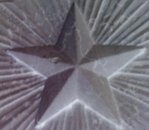 5-sided star on Italian war memorial