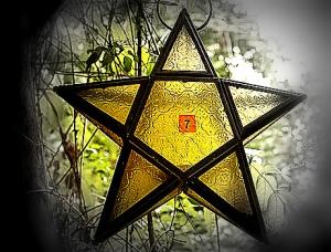 Pentagram lamp