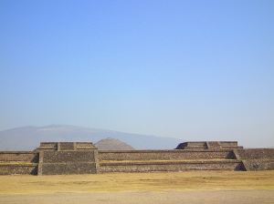 Temple at Teotihuacan, Mexico
