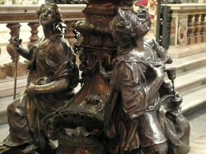 trinity of manifestation in Duomo, Napoli