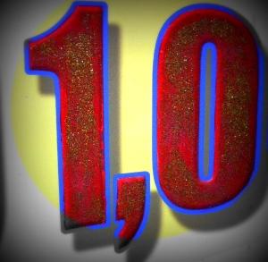 10 = 1 + 0