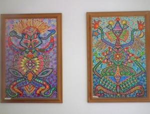 Pychedelic art in Ischia