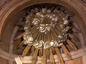 3rd eye symbolism, Valencia Cathedral