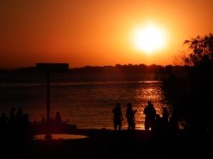 Porto Alegre sunset