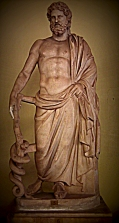 Asclepius god of healing