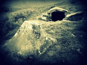 vagina and phallus in stone
