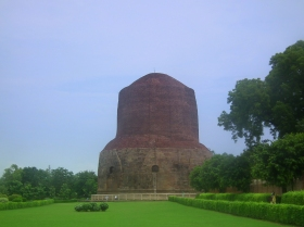 The Buddha Stupa