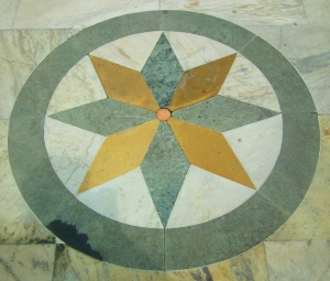 The 8-pointed star is found in every church