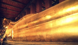 The Reclining buddha, Wat Pho, Bangkok