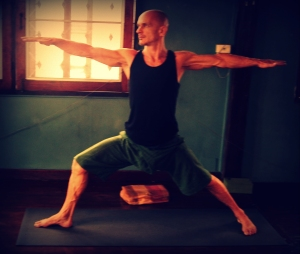 Warrior Two yoga posture