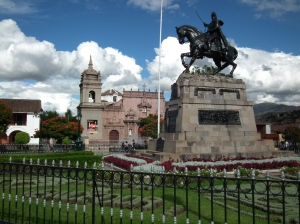 Central Plaza, Ayacucho