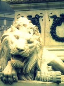 Lion statue, Naples