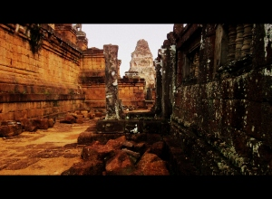 Crumbled temples of Pre Rup