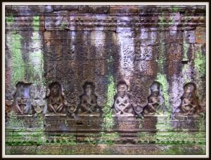 Bas relief Preah Kahn