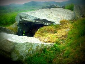 Subterranean cremloch in Wales