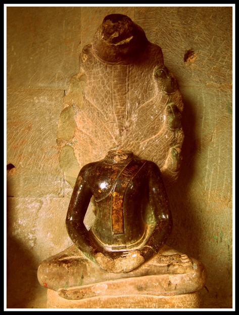 Buddha statue with Naga