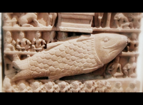 Matsya - first incarnation of Vishu
