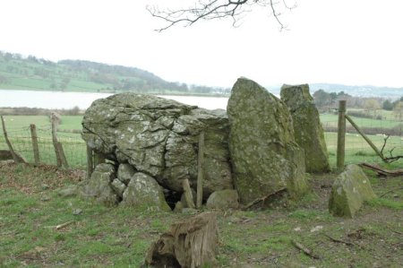 Allor Moloch, looking west towards River Conwy