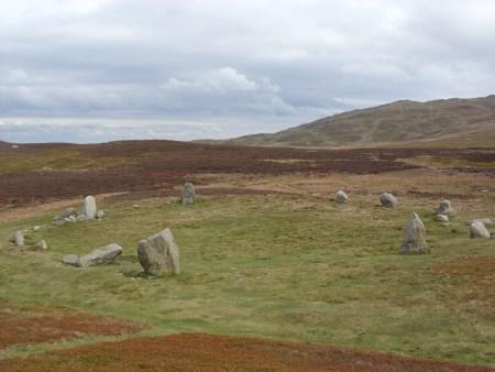 Druid Circle, Tal-y-fan, Wales