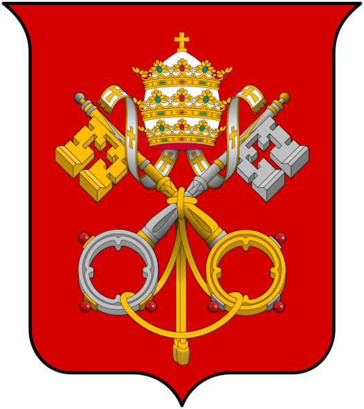 Crossed keys - Coat of Arms of the Holy See