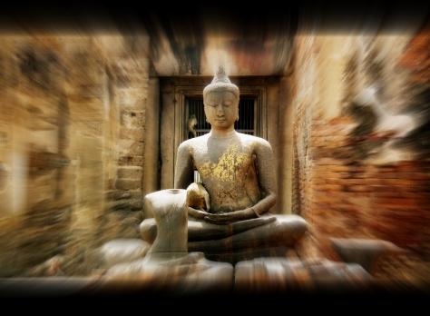 Buddha statue in Lopburi
