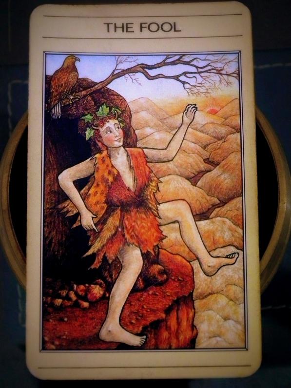 The fool card in tarot