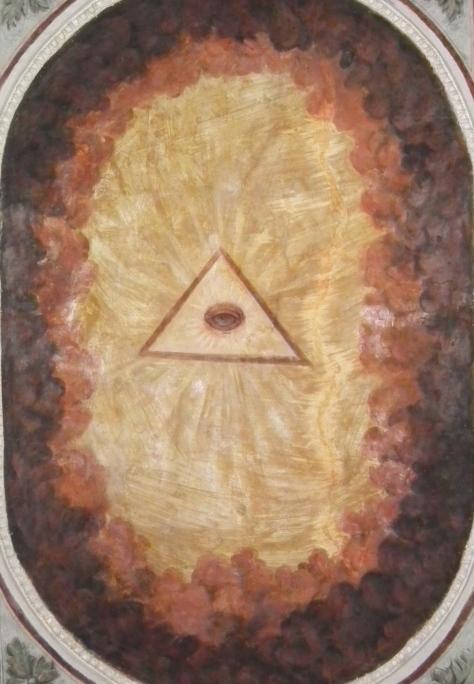 third-eye chakra in triangle