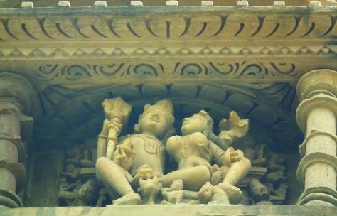 Shiva and Parvati dissolve ignorance and recreate wisdom