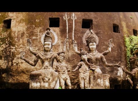 Shiva and Parvati statue