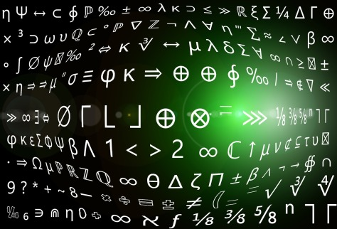 Symbols and Numbers