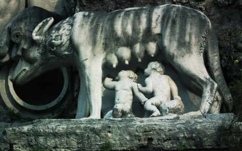 The Roman twins Romulus and Remus are the same as Mitra and Varuna in hindu myth