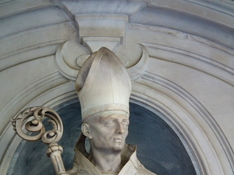 A bishops mitre is the Ichthys