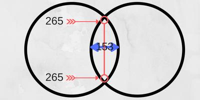 sacred geometry ratio of the Vesica Piscis